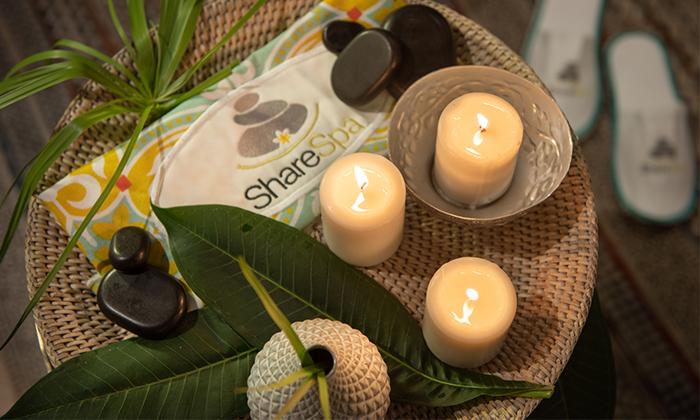 3 חבילת פרימיום זוגית, ספא ועיסוי באחד ממלונות Share Spa, תל אביב