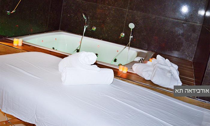 8 חבילת פרימיום זוגית, ספא ועיסוי באחד ממלונות Share Spa, תל אביב