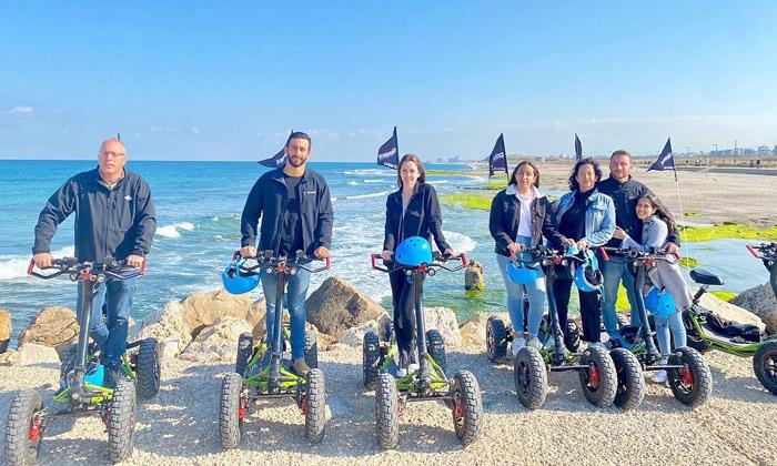 4 סיור רכיבה עם EZRaider, תל אביב