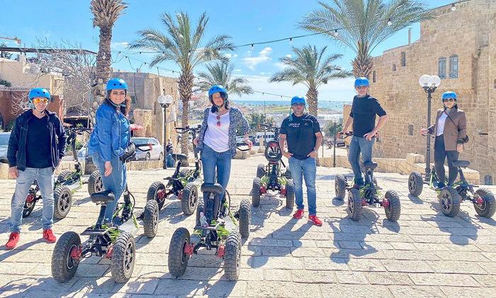 10 סיור רכיבה עם EZRaider, תל אביב