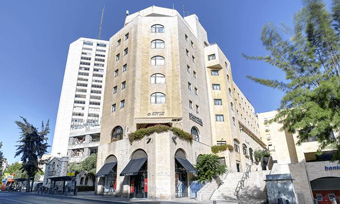 6 לילה לזוג במלון לב ירושלים