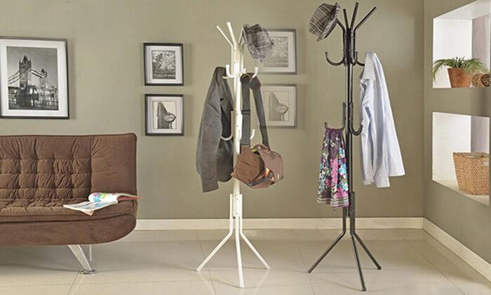 5 מתלה בגדים ומעילים I משלוח חינם