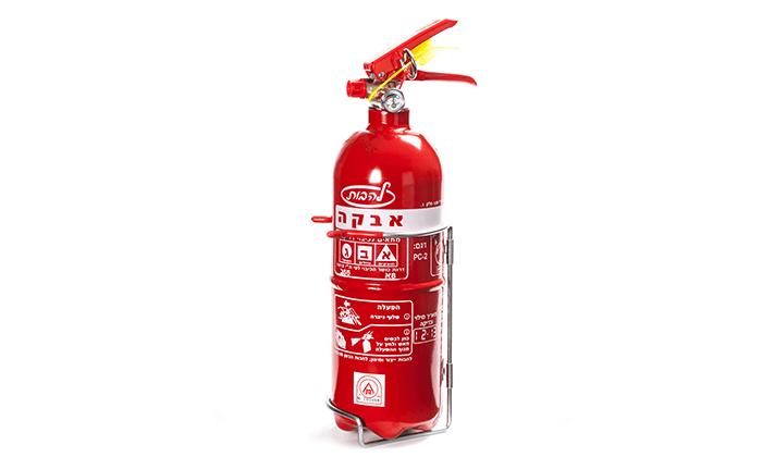 4 מטף כיבוי אש לבית ולרכב - משלוח חינם