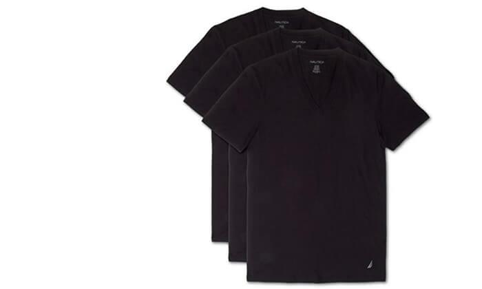 3 סט 6 חולצות גברים נאוטיקה NAUTICA, משלוח חינם
