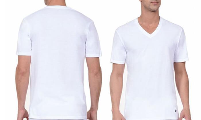 6 סט 6 חולצות גברים נאוטיקה NAUTICA, משלוח חינם