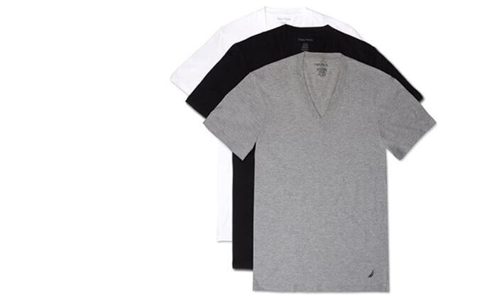 7 סט 6 חולצות גברים נאוטיקה NAUTICA, משלוח חינם