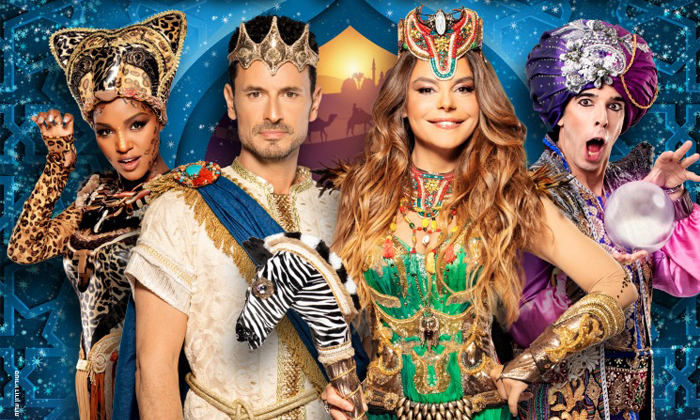3 כרטיס למופע 'שלמה המלך ומלכת שבא', רחבי הארץ
