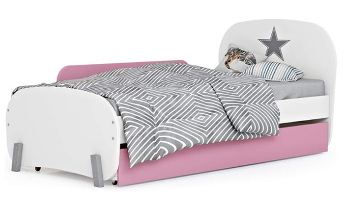 5 רהיטי סוכריה: מיטת ילדים ונוער