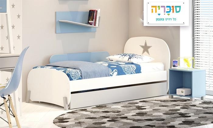 2 רהיטי סוכריה: מיטת ילדים ונוער