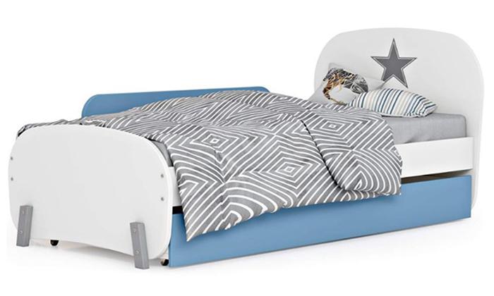 3 רהיטי סוכריה: מיטת ילדים ונוער ברוחב וחצי