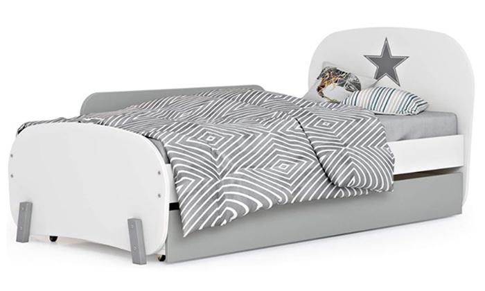 6 רהיטי סוכריה: מיטת ילדים ונוער ברוחב וחצי