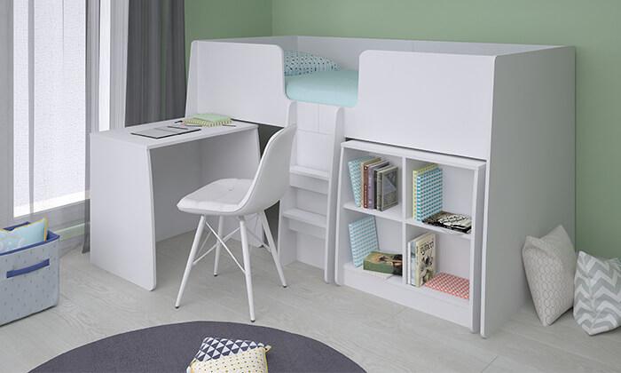3 רהיטי סוכריה: מיטת קומפלט לחדר ילדים ונוער
