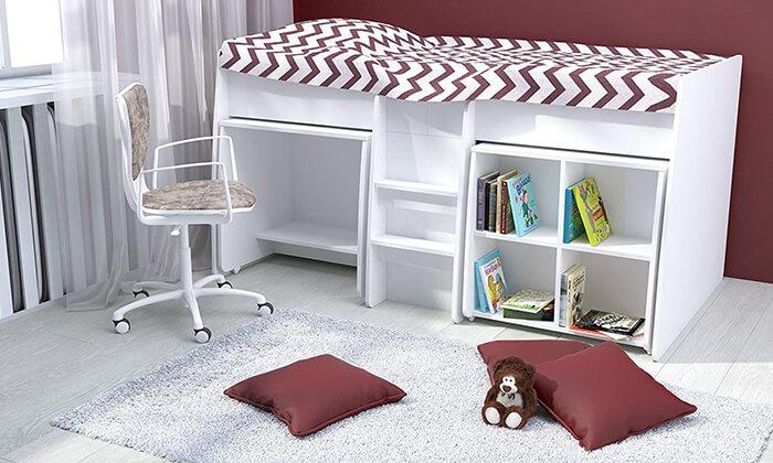 9 רהיטי סוכריה: מיטת קומפלט לחדר ילדים ונוער