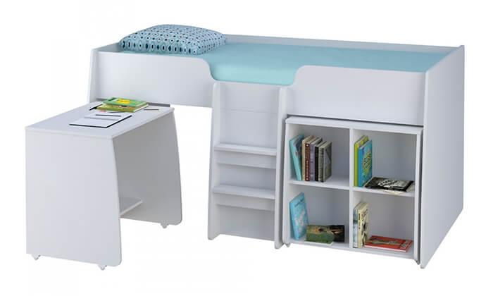 4 רהיטי סוכריה: מיטת קומפלט לחדר ילדים ונוער