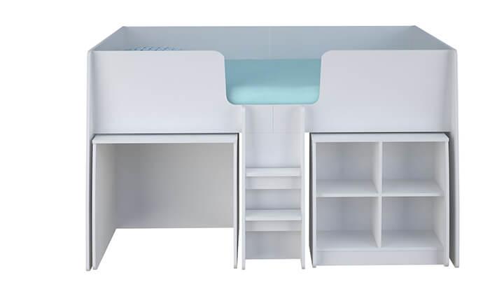 5 רהיטי סוכריה: מיטת קומפלט לחדר ילדים ונוער