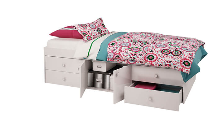 3 רהיטי סוכריה: מיטת במה לילדים ונוער