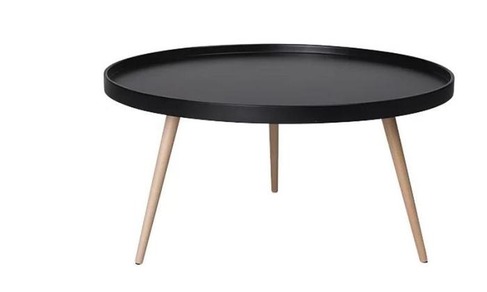 3 שולחן סלון עגול נמוך