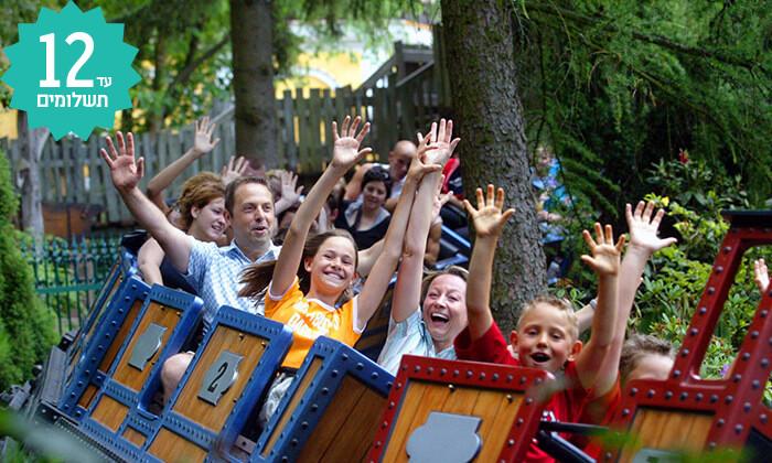 4 טיול פארקים למשפחות בקיץ - 8 ימים ביער השחור ובחבל אלזס