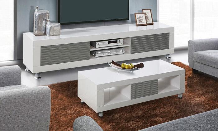 6 מערכת מזנון ושולחן לסלון LEONARDO