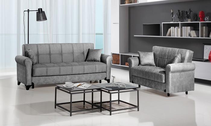 2 ספה דו ותלת מושבית LEONARDO