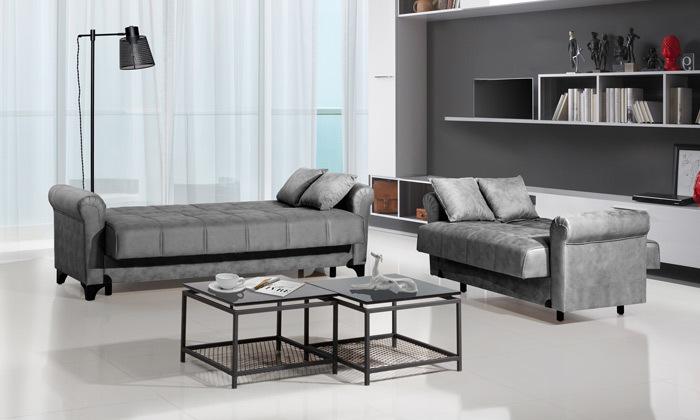 4 ספה דו ותלת מושבית LEONARDO