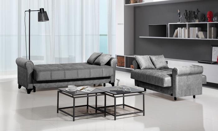 5 ספה דו ותלת מושבית LEONARDO