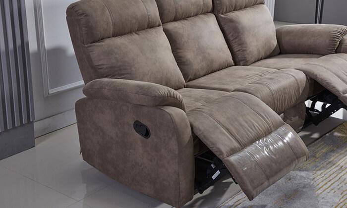 6 ספה דו ותלת מושבית עם ריקליינרים LEONARDO
