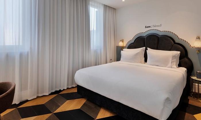 """4 Sam&Blondi - מלון בוטיק חדש בשנקין ת""""א, כולל סופ""""ש"""