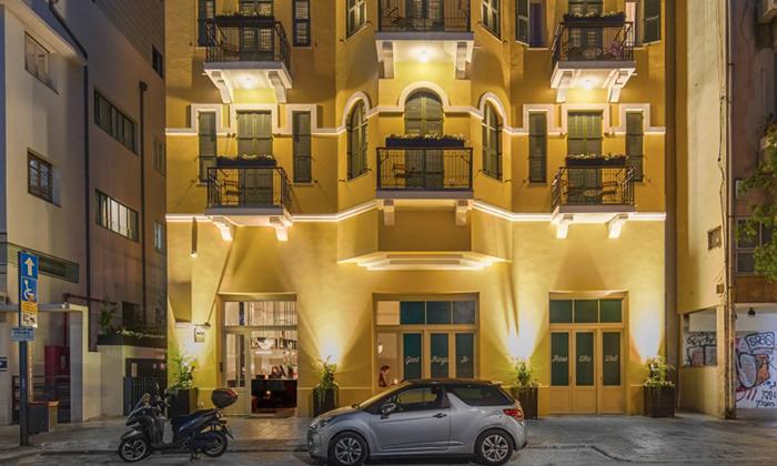 """8 Sam&Blondi - מלון בוטיק חדש בשנקין ת""""א, כולל סופ""""ש"""