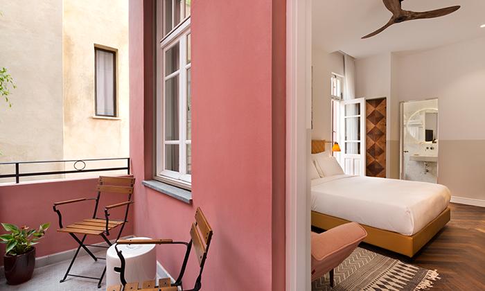 "5 Nordoy - מלון בוטיק בנחלת בנימין ת""א, כולל סופ""ש"