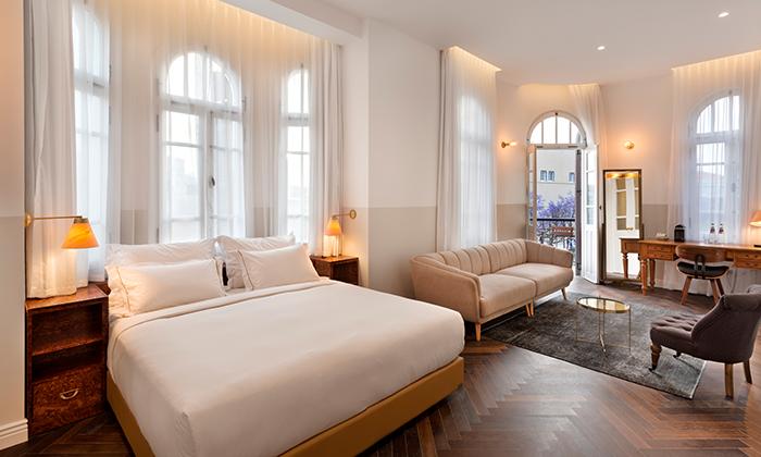 "6 Nordoy - מלון בוטיק בנחלת בנימין ת""א, כולל סופ""ש"