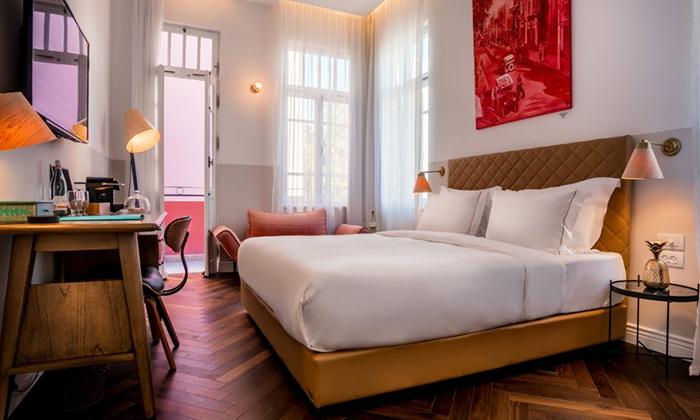 "7 Nordoy - מלון בוטיק בנחלת בנימין ת""א, כולל סופ""ש"