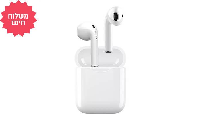 6 אוזניות Bluetooth אלחוטיות | משלוח חינם