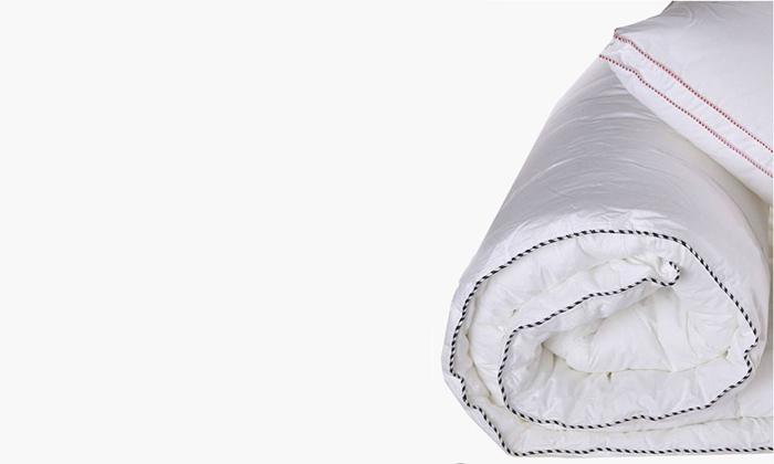 4 שמיכת פוך למיטה זוגית ורדינון