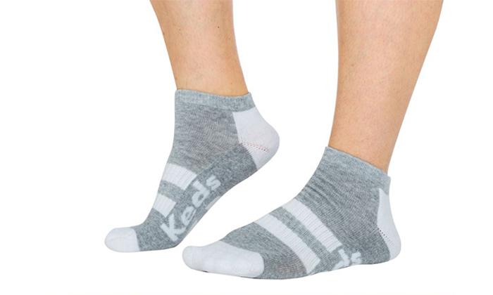 3 מארז 18 זוגות גרביים לגברים ונשים KEDS, משלוח חינם
