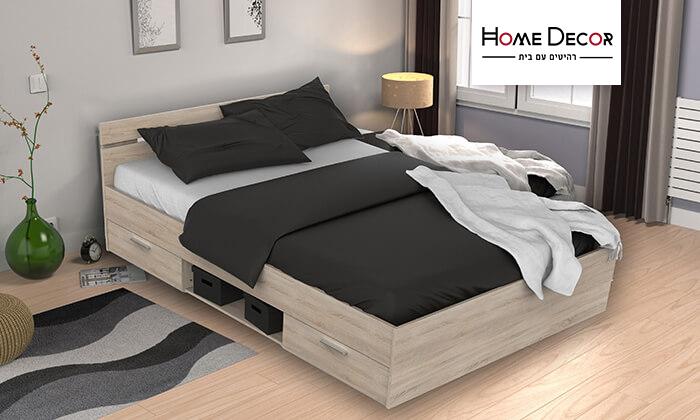 2 מיטה זוגית בעלת מגירות HOME DECOR