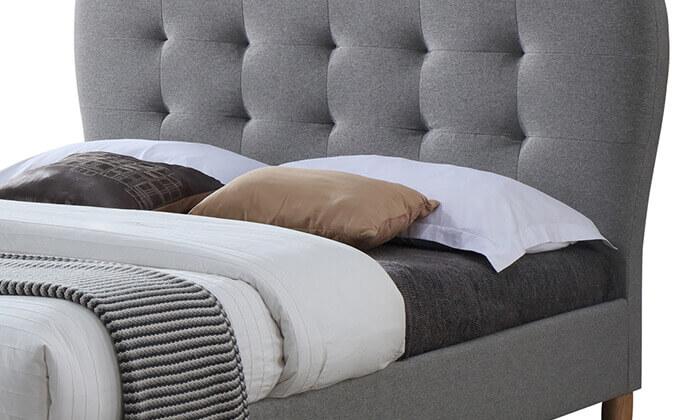 4 מיטה מרופדת ברוחב וחצי HOME DECOR
