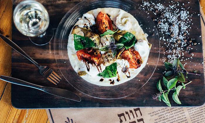 2 ארוחת פרימיום זוגית במסעדת חוות התבלינים, הגלבוע