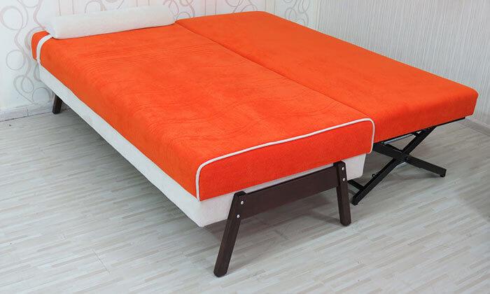4 ספת נוער אורטופדית נפתחת למיטה