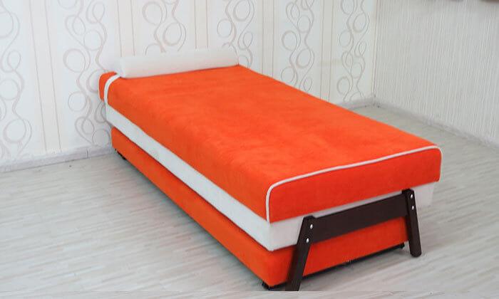 5 ספת נוער אורטופדית נפתחת למיטה