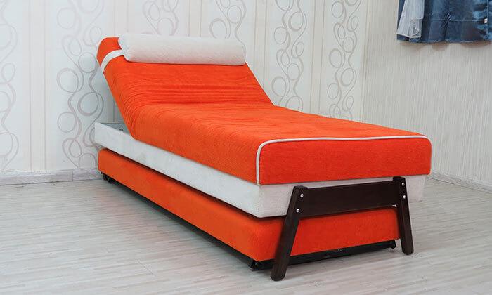 6 ספת נוער אורטופדית נפתחת למיטה