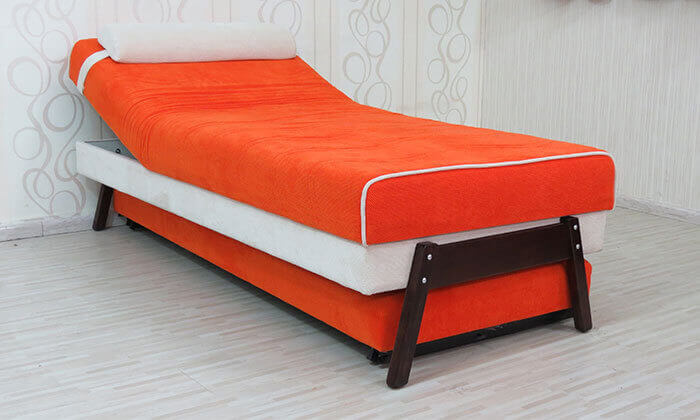 8 ספת נוער אורטופדית נפתחת למיטה