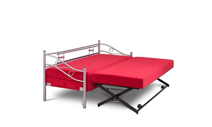 5 ספת נוער על קל נפתחת למיטה