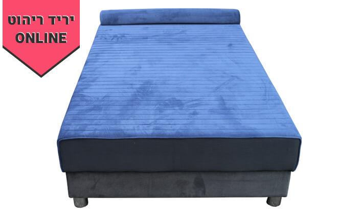 4 מיטת נוער אורתופדית ברוחב וחצי