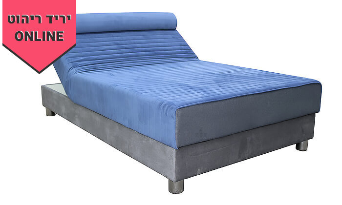 6 מיטת נוער אורתופדית ברוחב וחצי