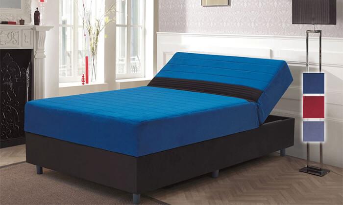 2 מיטה אורתופדית ברוחב וחצי