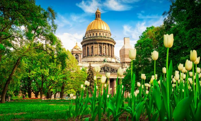 3 טיול מאורגן למוסקבה וסנט פטרסרבורג, כולל פסח וראש השנה