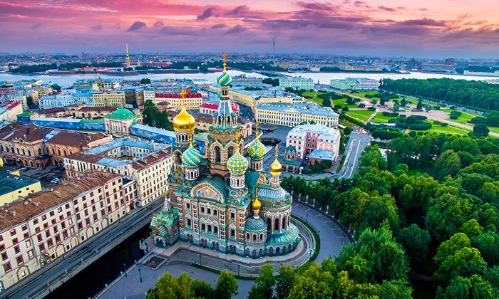 6 טיול מאורגן למוסקבה וסנט פטרסרבורג, כולל פסח וראש השנה