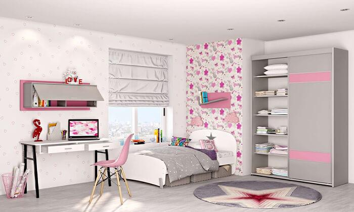 3 רהיטי סוכריה: מדף לקיר לחדר ילדים ונוער