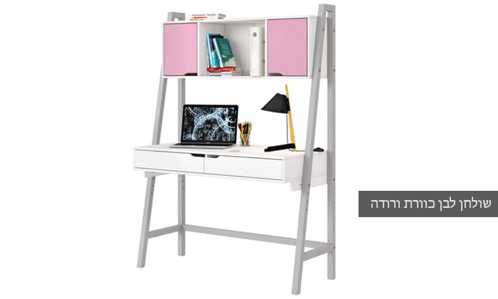 8 רהיטי סוכריה: שולחן כתיבה לחדר ילדים ונוער